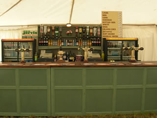 Here is an example of a built bar