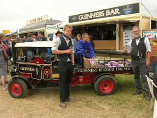 The Jervis Mobile Guinness Bar.