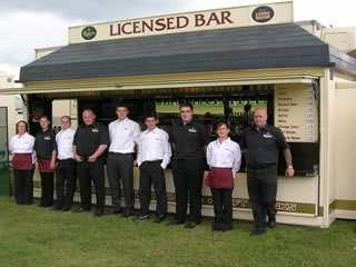 This image shows Jervis Mobile Bars highly trained and professional staff.