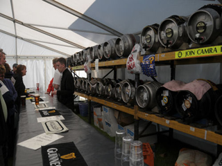 This image shows Jervis Mobile Bars at the Shrewsbury Folk Festival 2008.